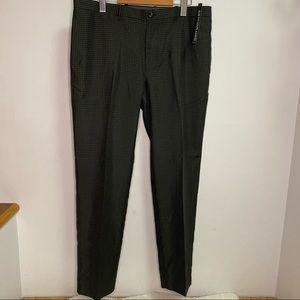 NEW Mondo Di Marco Black Slim Fit Mens Dress Pants